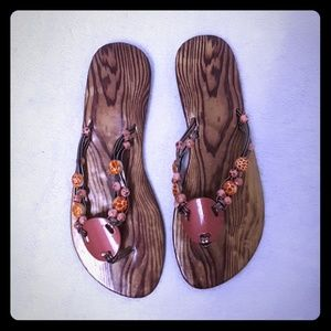 Shoes - Beaded Sandals